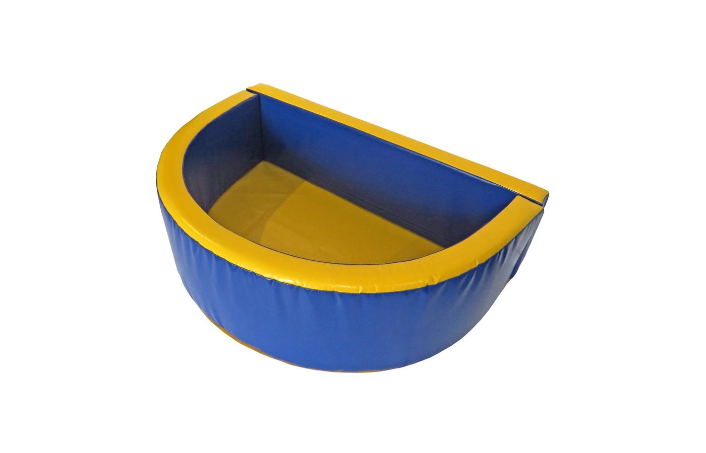 """Сухой бассейн """"Полукруг""""  2000х500х100"""