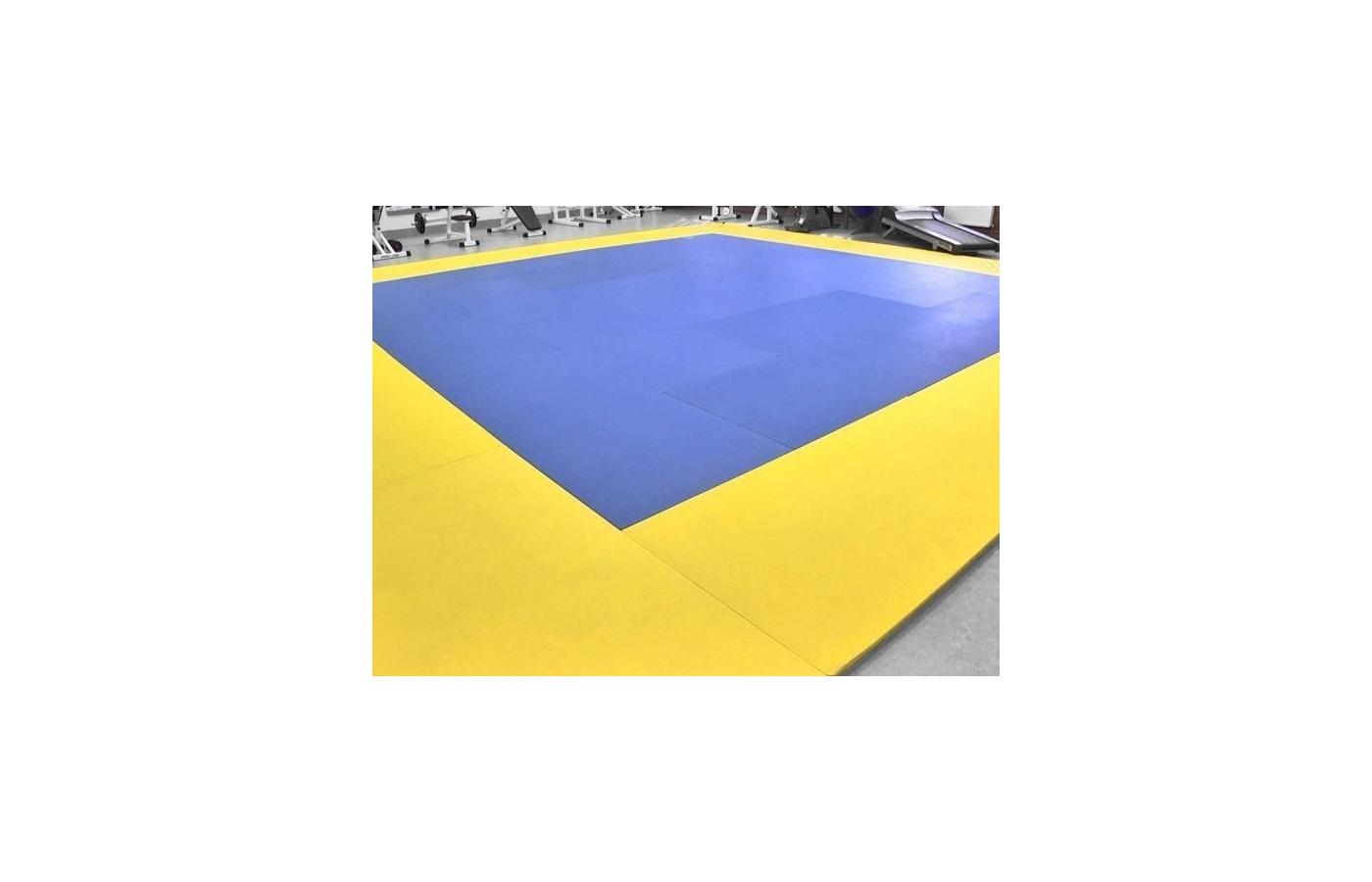 Арендовать ТАТАМИ 12x12м ( 144м.²) 1000х2000 мм. 72 листа: 40 синих, 32 желтых